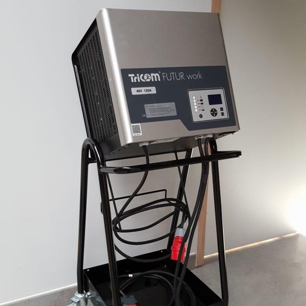 chargeur batteries industrielles traction