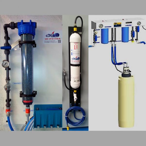 solutions pour déminéraliser eau pour batteries industrielles