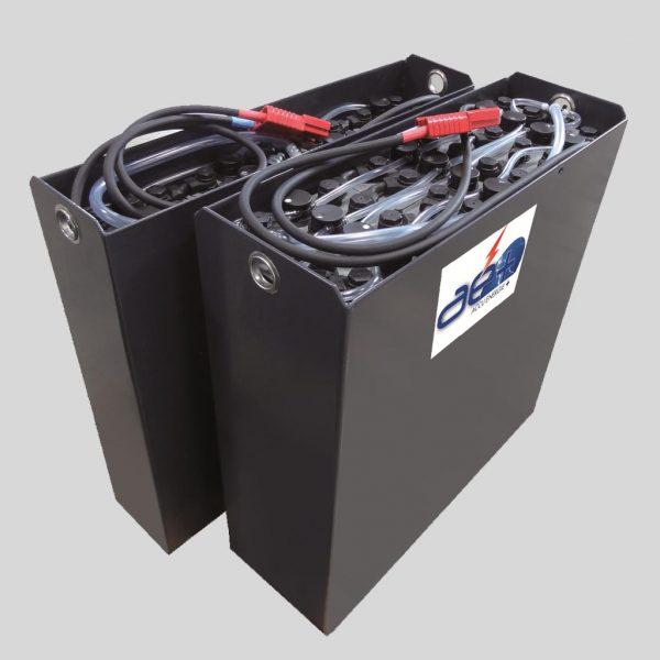 Batteries plomb pour chariots élévateurs type FENWICK, JUNGHEINRICH, STILL, TOYOTA...
