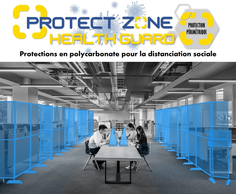 Protections anti-gouttelettes pour la sécurité sanitaire